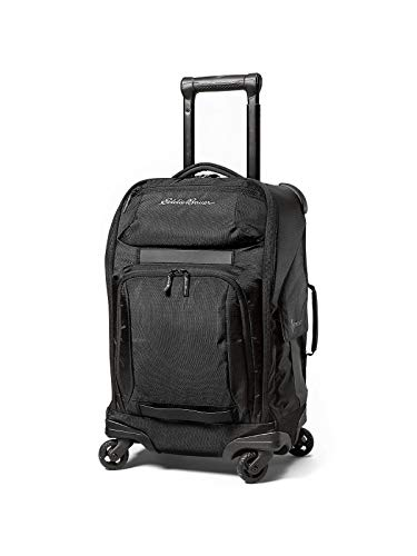 Eddie Bauer Unisex-Adult Travex Voyager 2.0 Rolling Bag, Black Regular ONESZE