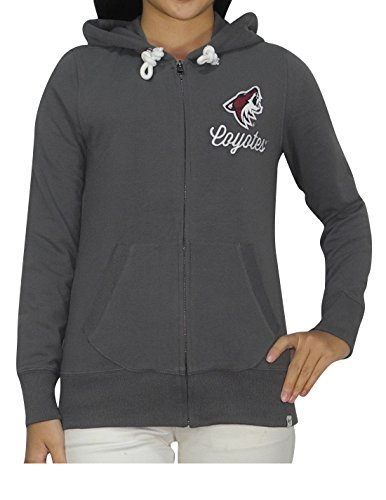 NHL ARIZONA COYOTES Womens Athletic Zip-Up Warm Hoodie M - Arizona Outlets Shopping