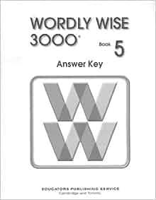 wordly wise 3000 book 4 answer key pdf