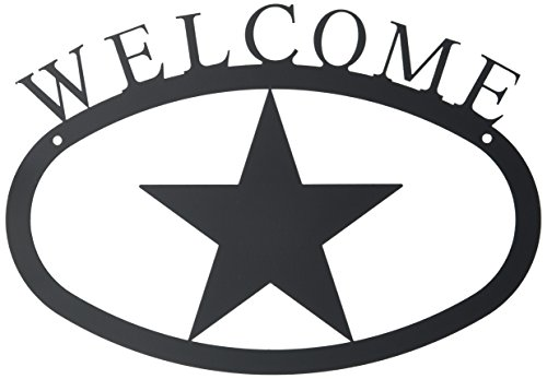 Iron Star Bbq - 11 Inch Star Welcome Sign Small