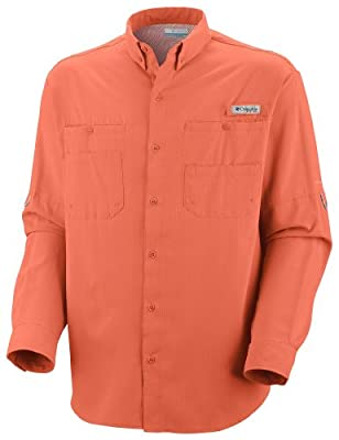 Columbia Men's Tamiami II Long Sleeve Shirt (Big) by Columbia