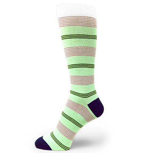 Spotlight Hosiery Men's Groomsmen Wedding Argyle Dress Socks-Bright Mint Green/Mauve/Lilac, Navy/Midnight by SpotLight Hosiery