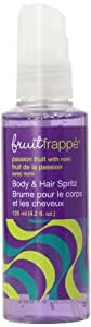 Upper Canada Soap Fruit Frappe Body Gel Spritz, Passion Fruit with Noni, 4.2-Ounce (Pack of 2)