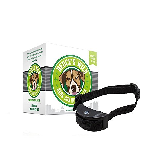 Deuce's Wild Best Humane Bark Collar! Each Purchase Helps Rescue Dogs! by Deuce's Wild