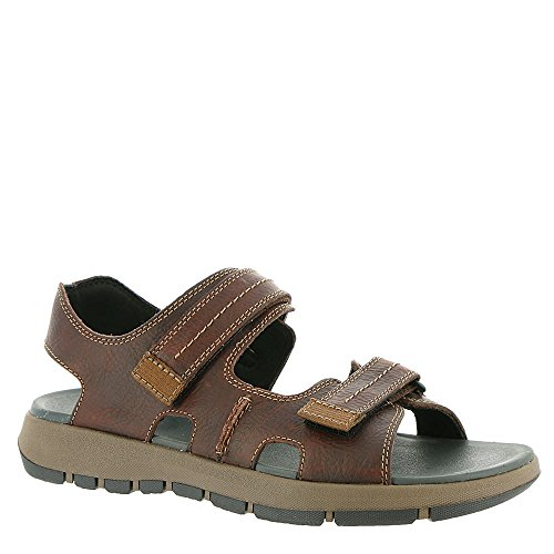 Clarks Mænds Brixby Shore Sandal British Tan Læder 72WyZ