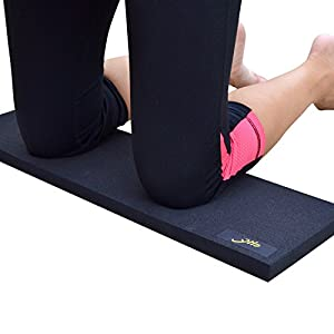 Yilo Warrior | Engineered Foam Yoga Knee pad | 1 in (25 mm) Thick | Eliminate Knee Pain from Your Practice