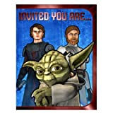 : Star Wars Clone Wars Birthday Party Invitations NEW