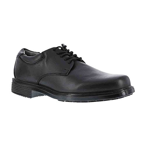 Mens Oxford Work Shoe (Rockport Work Men's RK6522 Work Shoe,Black,11 W US)
