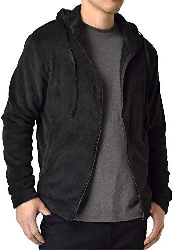 フリース メンズ ボア パーカー ジャケット パンツ ルームウエア 暖 防寒 パジャマ / H4H