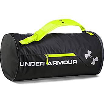 Under Armour Unisex Isolate Duffel Bag, unisex-adult, 1256392, Black (001)/Silver, One Size