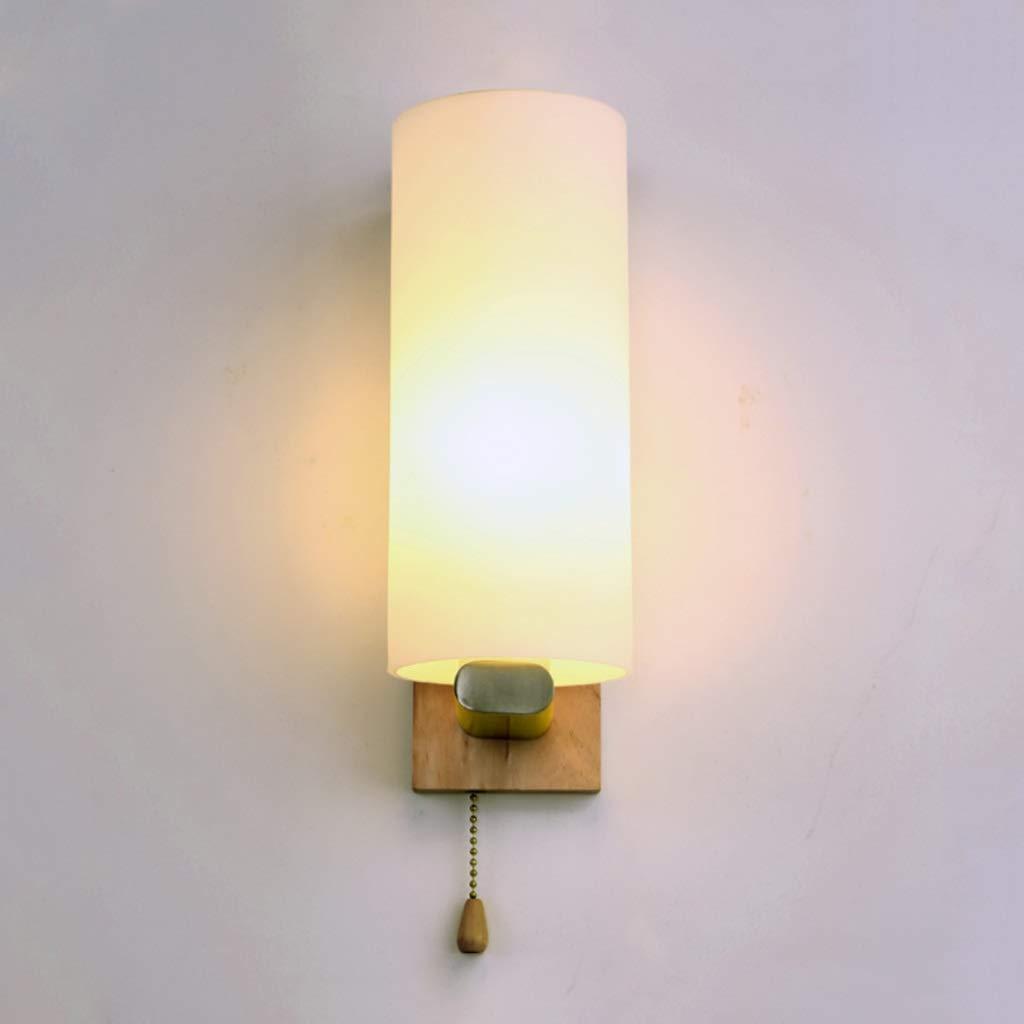 Wandleuchte Wandlampe Moderne led wandleuchte, hotel massivholz wandleuchte, kreative schlafzimmer studie gang lichter