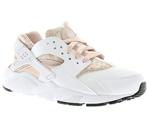 online store a2bbb e2726 Nike - Huarache Run Print GS - 704946100 - Couleur  Blanc-Orange - Pointure