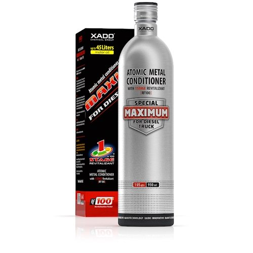 XADO Atomic Metal Conditioner with 1 Stage Revitalizant Maximum for DIESEL TRUCK by XADO