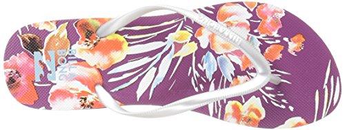 Billabong Women's Dama Flat Sandal Cru AULCE5