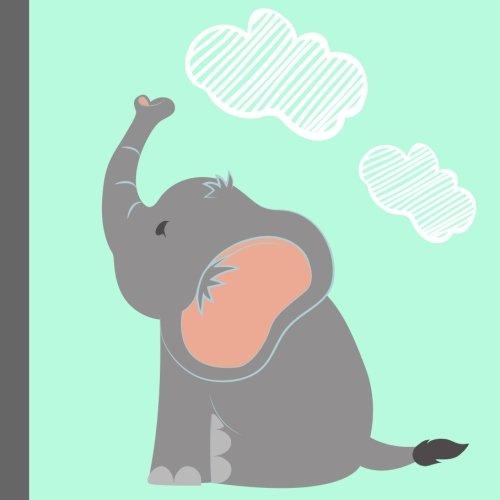 Mint Green Baby Shower Guest Book: Mint Green Elephant Baby Shower Guest Book Plus Bonus Gift Tracker Plus Bonus Baby Shower Games You Can Print Out ... Green Elephant Baby Shower Favors) (Volume 1) ()