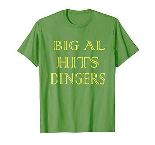 Big Al Hits Dingers tee