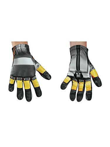 Disguise Bumblebee Movie Child Gloves, One -