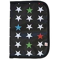 Estrellas negro Daniesltore Mybags-Portadocumentos Bebe