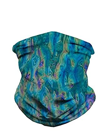 iHeartRaves Acid Lagoon Seamless Mask Bandana