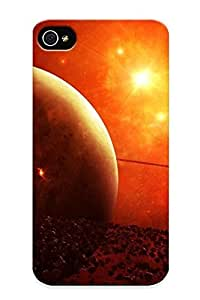 Crooningrose Fashion Protective Firey Cosmos Case Cover For Iphone 4/4s