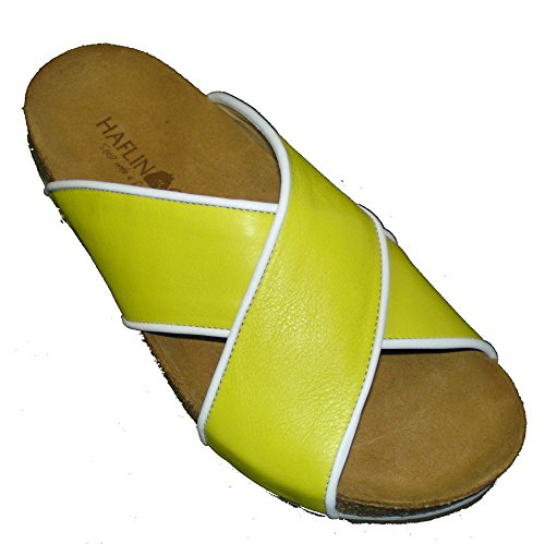 0 Mules amp; Haflinger 819042 Donna Clogs giallo 1546 RqnwTZWc