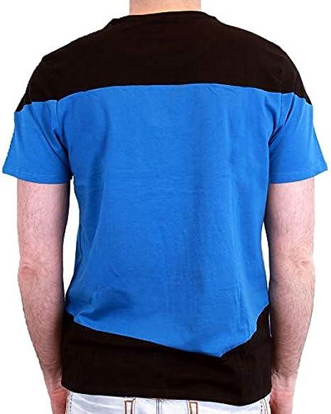 Star Trek-Camiseta para Hombre, diseño de Spock Blue Uniform ...