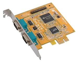 Two Port Serial RS-232 + One Parallel Port PCI-Express Expansion Card