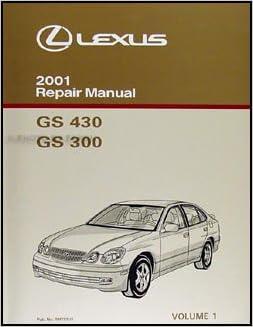 lexus 2001 gs300 owners manual