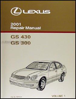 2001 lexus gs 300 430 repair shop manual volume 1 original lexus rh amazon com 2001 lexus es300 manual 2000 lexus gs300 manual