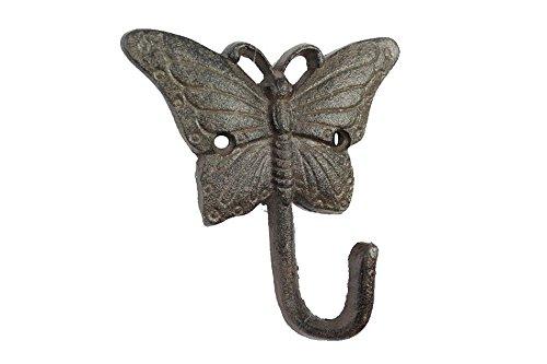 Cast Iron Butterfly Hook 6