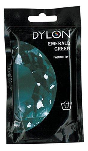 Dylon Hand Fabric Dye, 1.76 Oz (50g), Emerald Green by Dylon Farquar International
