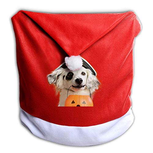 Halloween Pumpkin Lantern Pirate Cap Non-Woven Xmas Christmas Themed Dinner Chair Cap Hat Covers Set Ornaments Backers Protector for Seat Slipcovers Wraps Coverings Decorations
