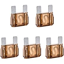 5 Pcs 20 Amp Large Blade Style Maxi Fuse for Car RV Boat Auto (70A)
