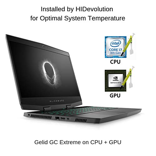 "HIDevolution Alienware M15 15.6"" FHD 144Hz Thin and Light Gaming Laptop 