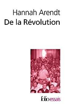 Essai sur la révolution par Arendt