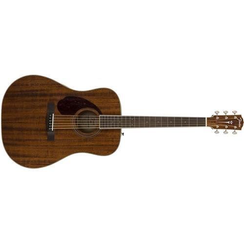 Fender PM-1 Standard Mahogany Dreadnought Left-Handed Acoustic Guitar ()
