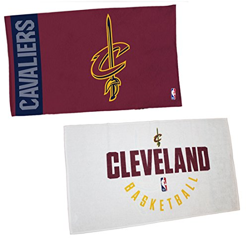 WinCraft NBA Cleveland Cavaliers On Court Towel, NBA Locker Room Authentic Edition 22x42 inches by WinCraft