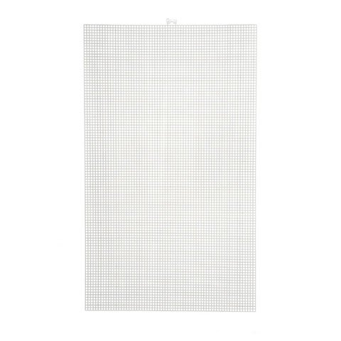 Darice Mesh Plastic Canvas Artist Sheet 13.25 X 22 Inches Clear (12 Pack)