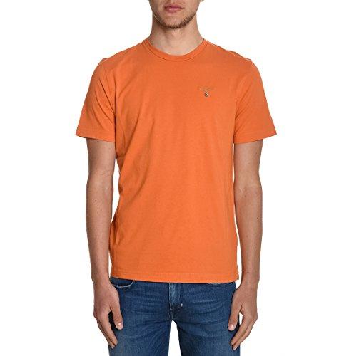 Aeronautica Militare Herren TS1343J37257296 Orange Baumwolle T-Shirt