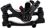 Black Aluminum Alloy Mountain MTB Bike Bicycle Rear/Front Disc Brake Caliper Gear Kit - Front