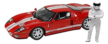 Minichamps Top Gear  Scale Ford Gtcast Car Red With The
