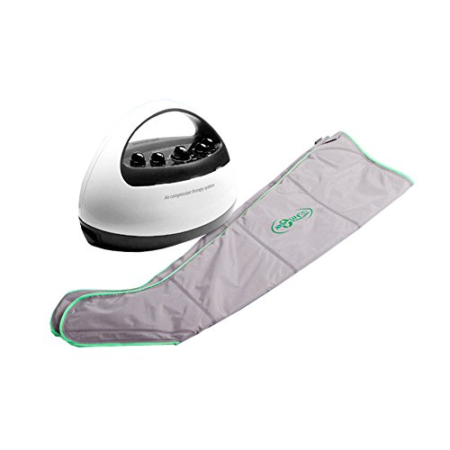 DOCTOR LIFE ACE PREMIUM Leg Massager Therapy Fitness Device Air Compression Circulation (XL Size + Extender, Machine+Leg+Arm Set) by Doctor Life