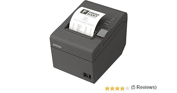 Epson TM-T20II - Impresora de Etiquetas (203 x 203 dpi, 22, 6 Caracteres por Pulgada), Gris, Ya Disponible en Amazon Dash Replenishment