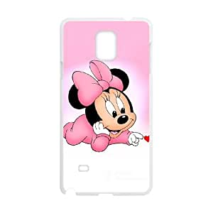 Minnie Mouse Samsung Galaxy Note 4 Cell Phone Case White 05Go-461830