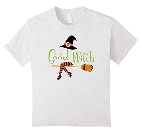 Kids Good Witch Halloween Shirt 6 White -