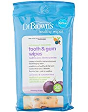 Dr Brown's Tooth and Gum Wipes, 30ct