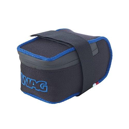 Wag Satteltasche MTB Cordura kratzfest schwarz blau (Taschen Schabracke)/Saddle Bag MTB Cordura Anti-Scratch Black Blue (Wing Case)