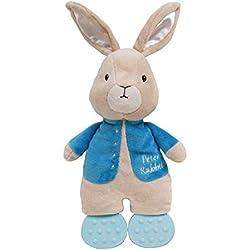"Beatrix Potter Peter Rabbit Teether Cuddle Pal Stuffed Animal, 12"""