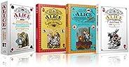 Alice No País Das Maravilhas E Alice Através Do Espelho + Alice Para Colorir