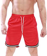 ZIOOER Men Solid Color Drawstring Quick Dry Beach Shorts & Swim Tr